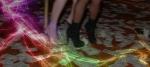 strip shoes slide